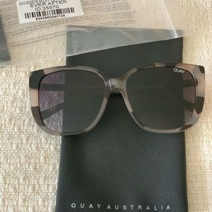 Quay Australia Ever After Tortoise Sunglasses